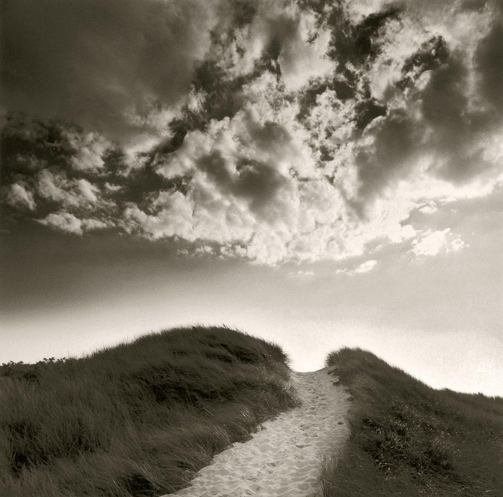 Martha's Vineyard dune seascape photograph