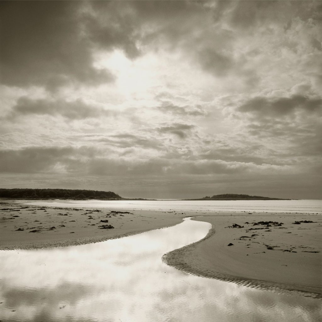 Goose Rocks Beach Maine seascape photograph