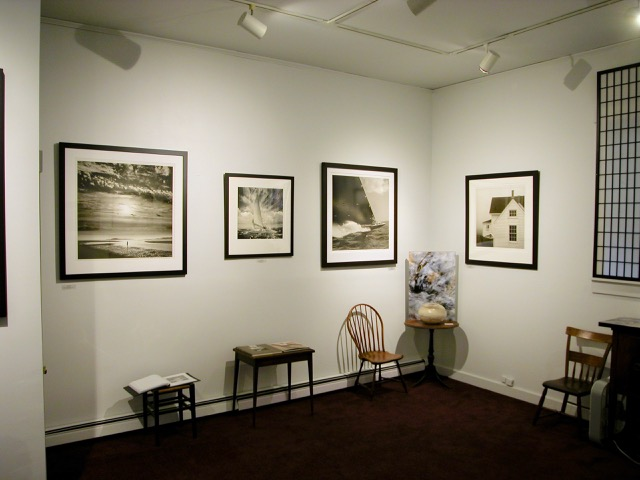 Photographs on display at Stanhope and Spencer Gallery in Rockland Maine