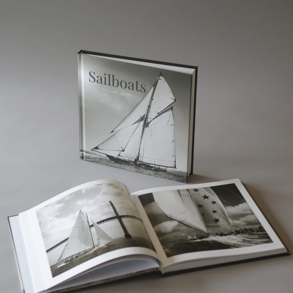 Sailboats and East Coast Atlantic Beaches black and white film photography books Michael Kahn